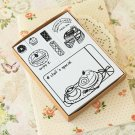 Piece of Cake Natural Somssi cartoon rubber stamps set