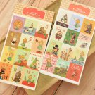 Alice in Wonderland cartoon stamp stickers
