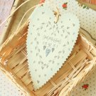 Congratulations East of India Large Heart gift tags