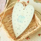 Its a Boy East of India Large Heart gift tags