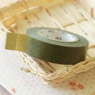 Fern Green Classiky Winter Washi Tape