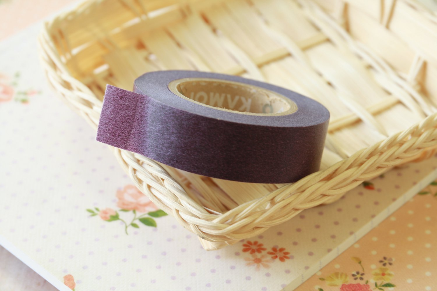 Purple Classiky Winter Washi Tape