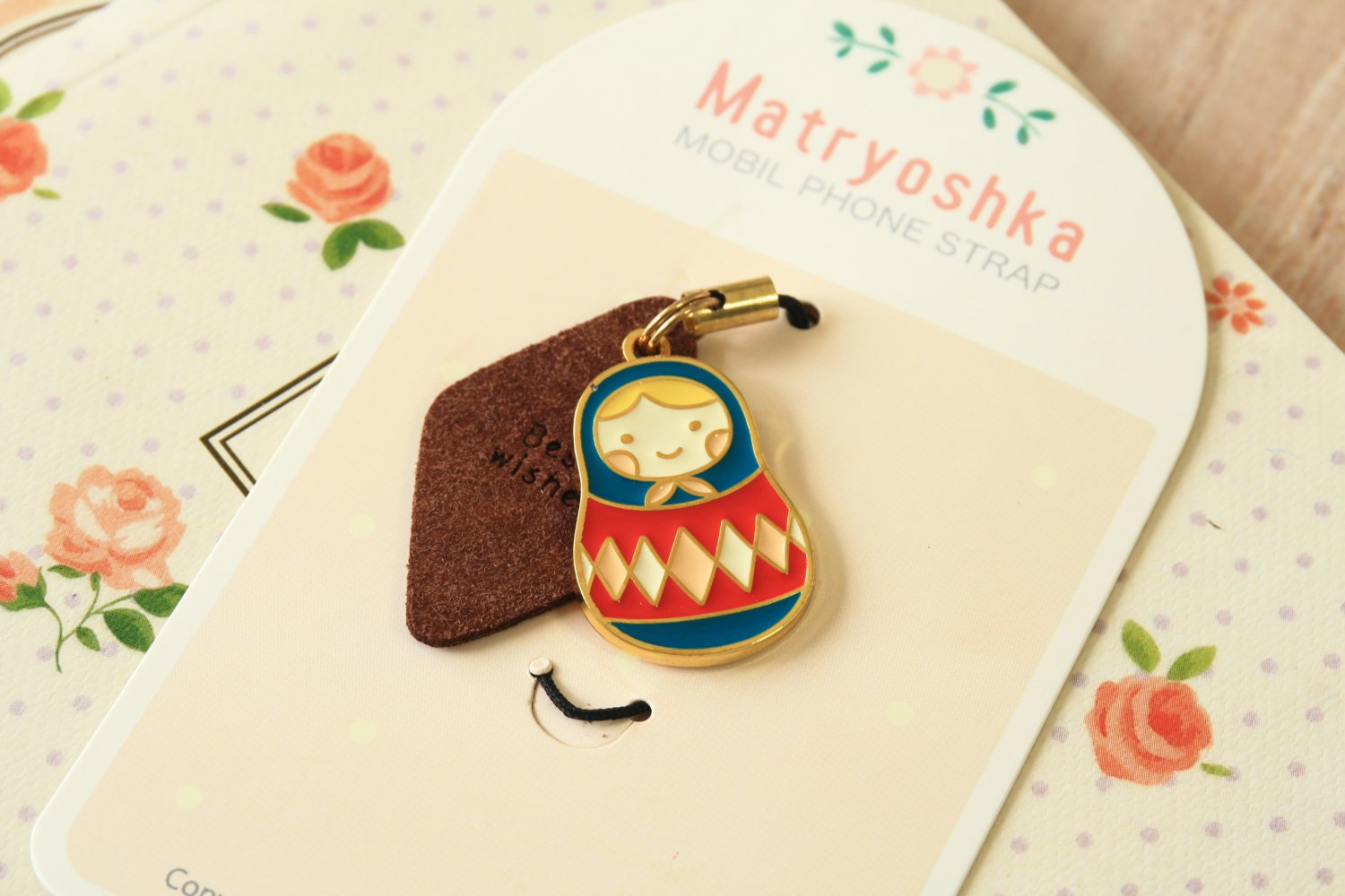 U-Pick Matryoshka Cute Doll Phone Charm