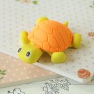Orange & Yellow Little Turtle Eraser