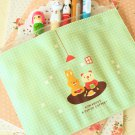 Vanilla Picnic Day pen bag pouch cosmetic case