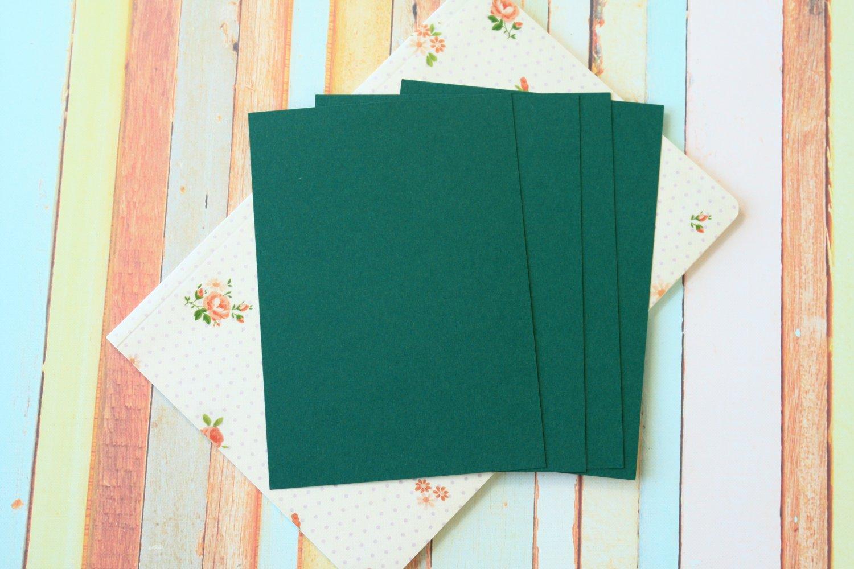 Juniper Green Craft Style blank postcards
