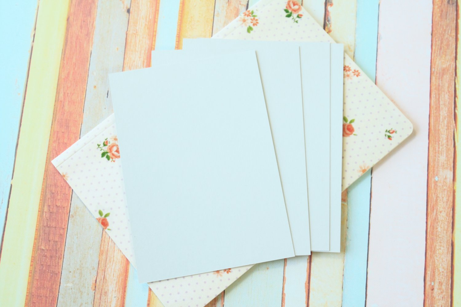 Ash Grey Craft Style blank postcards