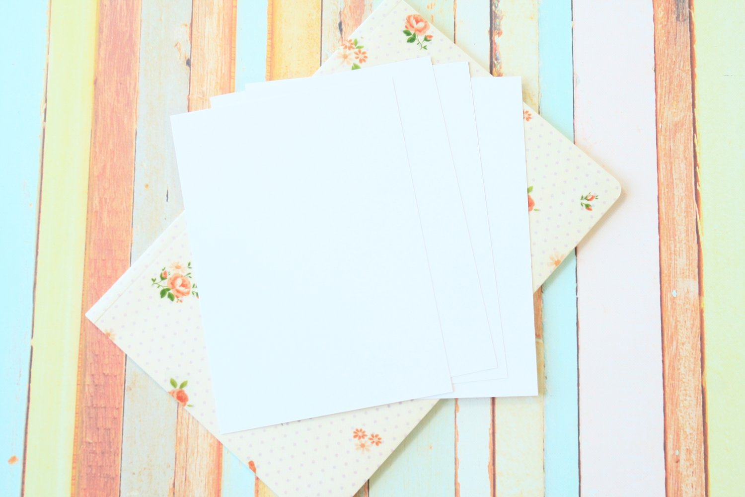 Cotton White Craft Style blank postcards