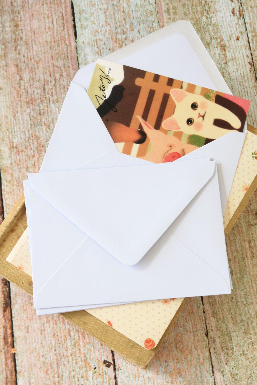 Pale Lilac plain C6 banker envelopes