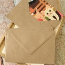 Plain Kraft Brown plain C6 banker envelopes