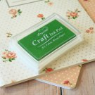 Green Crystal Craft Ink Pad rubber stamp pad