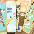 Retro Cartoon cute cartoon bookmarks set