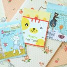 Set 02 Cute Mini Cartoon blank greeting cards