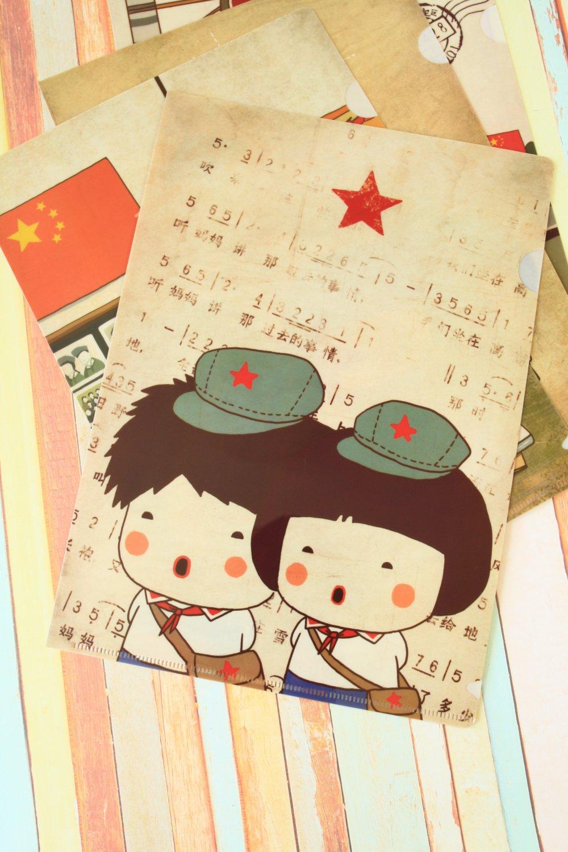 Sing Childhood Memories PVC cartoon File Folder