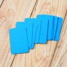 Medium Blue blank business cards