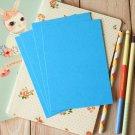 Aquamarine Blue postcard blanks