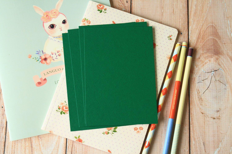 Holly Green postcard blanks