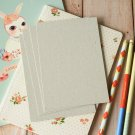 Chipboard Grey postcard blanks