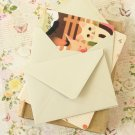 Mushroom Grey vintage series C6 banker envelopes