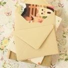 Cappuccino Beige vintage series C6 banker envelopes