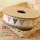 Bunting Flags cartoon cotton sewing tape ribbon