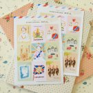 Royal L'apres Midi cartoon stamp stickers