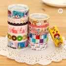 Cartoon & Travel 10pc mini tapes set Series 9-1