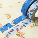 Set D Classiky Cartoon Washi Tape Set