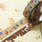 Set F Classiky Cartoon Washi Tape Set