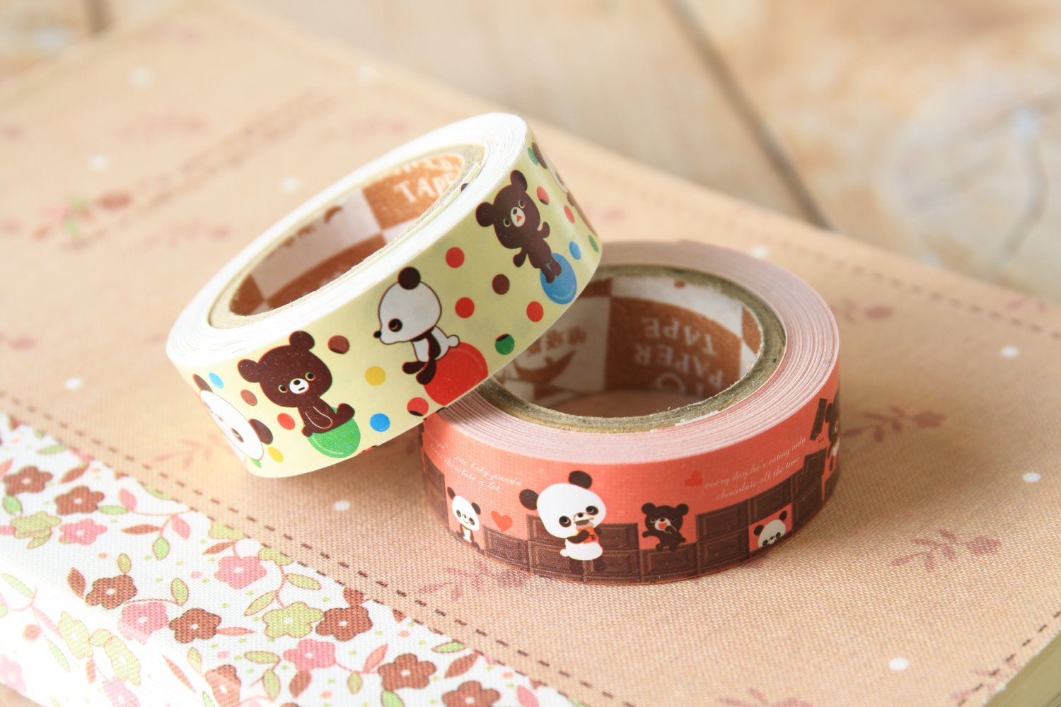 Chocopa cute cartoon mini deco paper tape