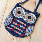 Montague Ditsy Owl Vintage Floral shoulder bag