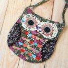 Vintage Ditsy Owl Vintage Floral shoulder bag