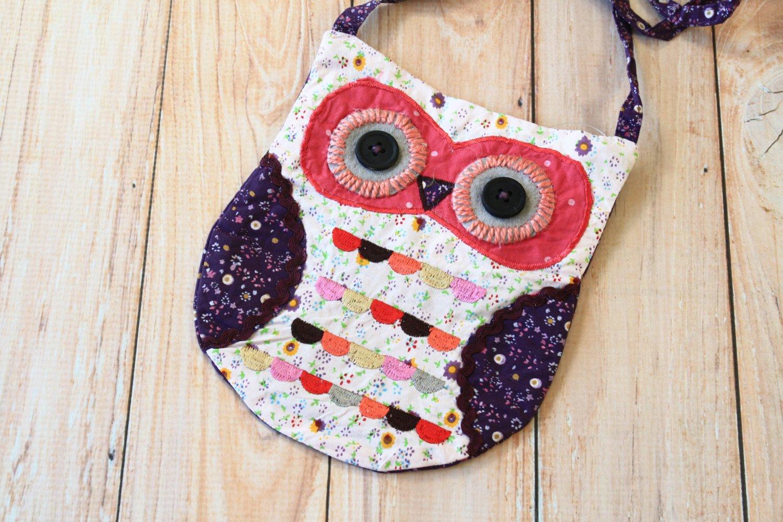 Wise Ditsy Owl Vintage Floral shoulder bag