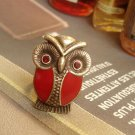 Red Hoot Hoot Owl novelty ring