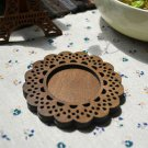 Mercerie de France wooden lace coaster