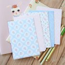 Pretty Polka Dots mix floral & deco postcard blanks