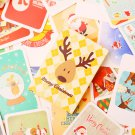 Christmas cartoon mini scrapbooking cards