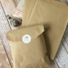 Plain Kraft Brown small paper bags