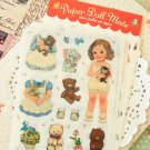 Ver 2 Paperdoll Mate cartoon deco stickers