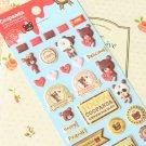 Coopanda Cookie Bear cartoon puffy stickers