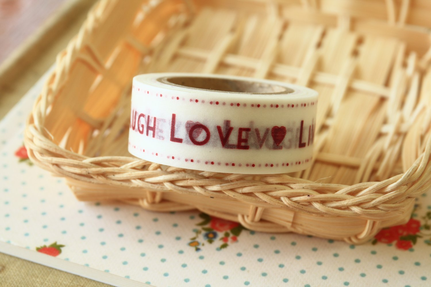 Live Laugh Love East of India masking paper tape