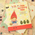 Red Riding Hood O Story cartoon illustrated notebook