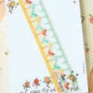 Birds Cartoon Pastel Pocket Ruler