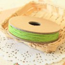 Green Solid Divine Twine 20yd string spool