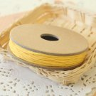 Yellow Solid Divine Twine 20yd string spool