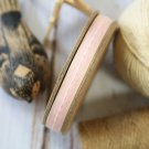 East of India Pink Thin Stitched ribbon