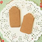 Kraft Brown DIY Collection Small Scallop Tags