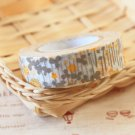 Yellow Flowers Classiky Ten to Sen Cartoon Washi Tape Set