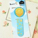 Lemon cartoon magnetic bookmark paper clips