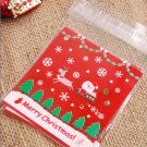 Santa Sleigh cellophane cookie bags sweets bags
